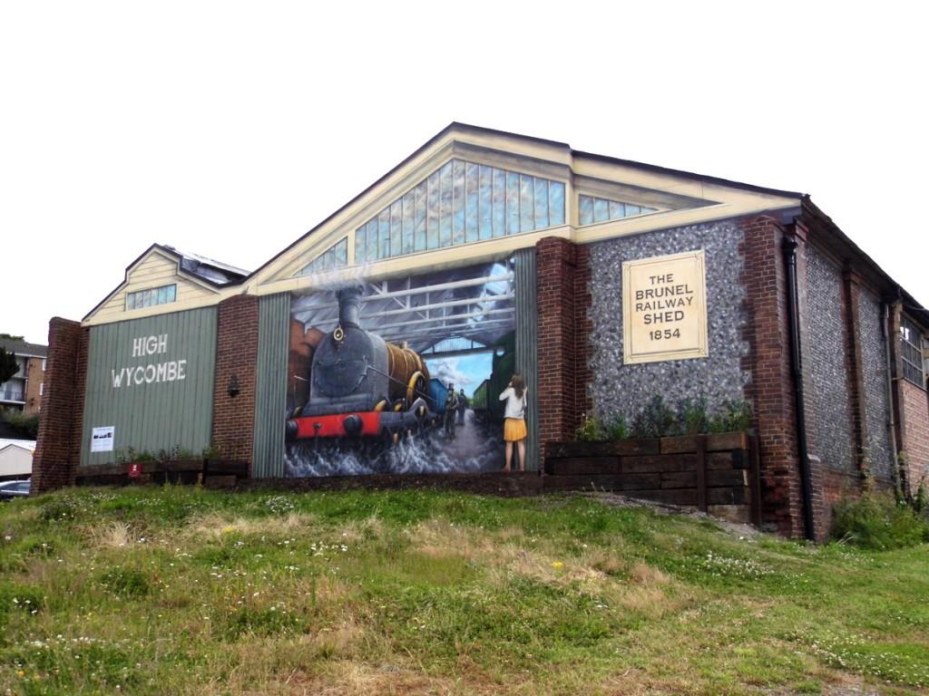 Brunel Railway Shed