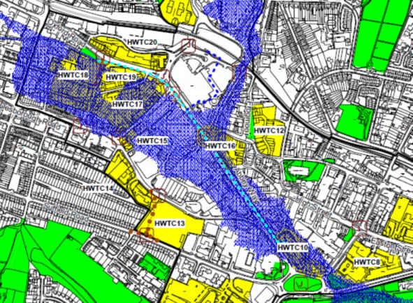 WDC site allocations map 2013